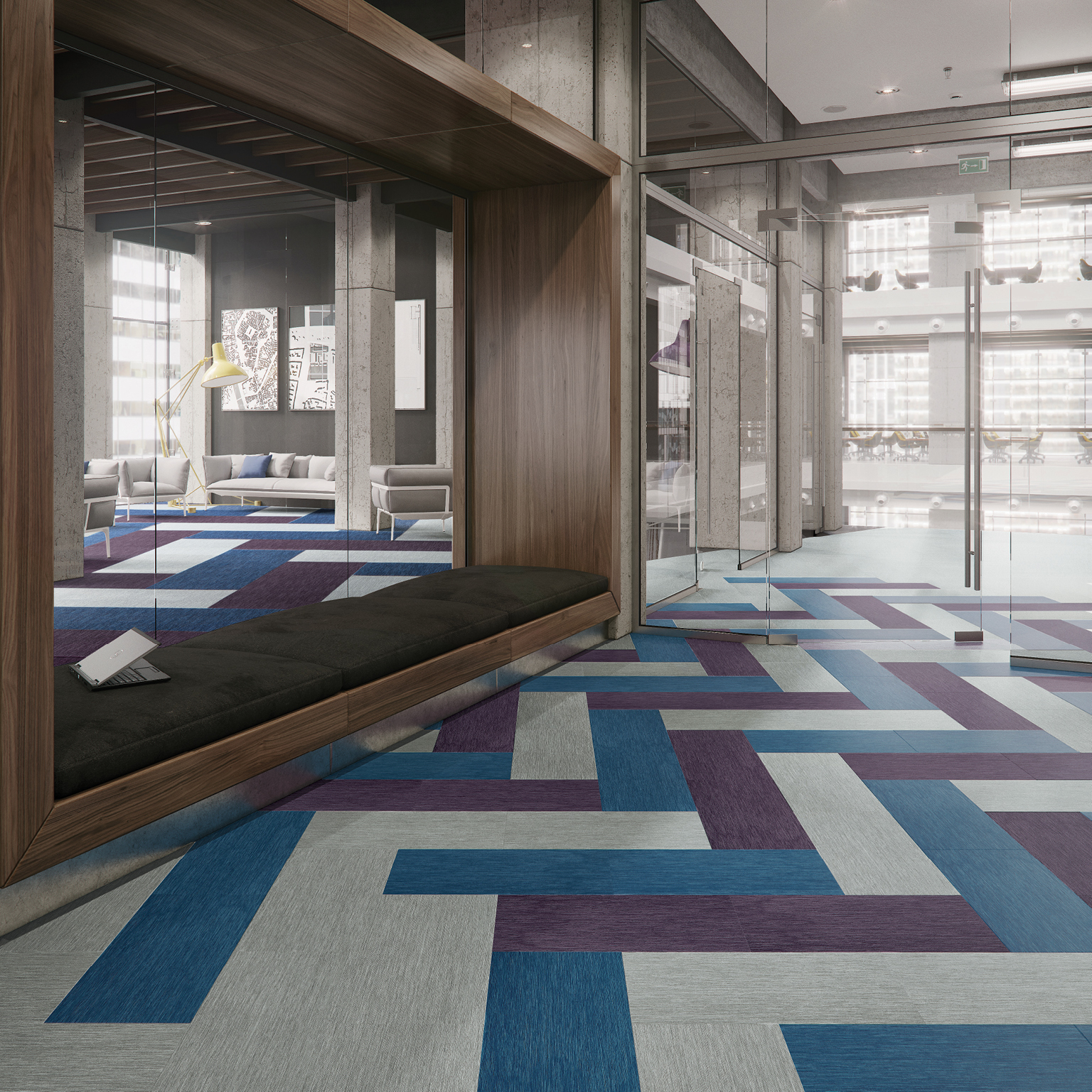 Stride Lvt Hard Surface Mannington Commercial
