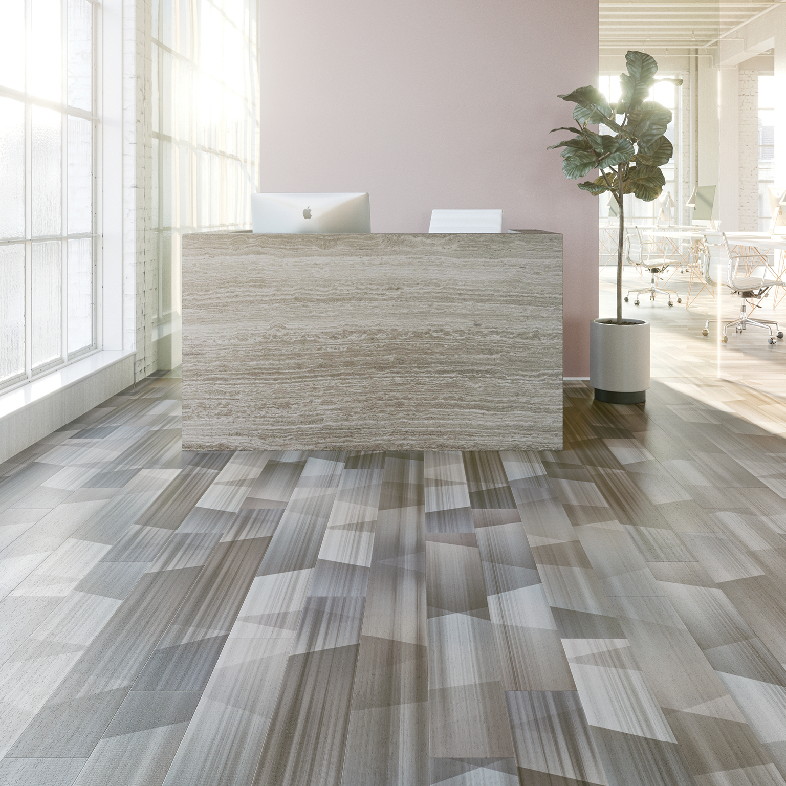 Timberline Trace Amtico Hard Surface Mannington